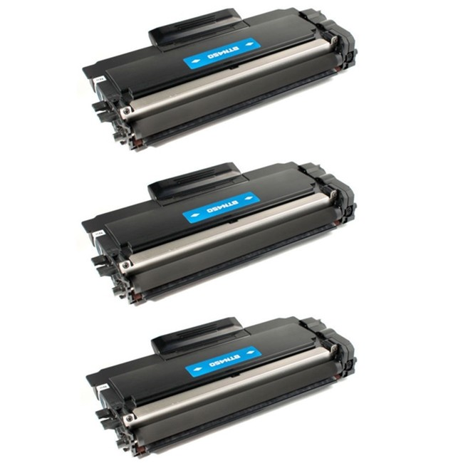 3 Pack Brother TN450 TN-450 Black High Yield Laser Toner Cartridge