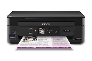 Epson Expression Home XP-340 Wireless Color Photo Printer with Scanner and Copier