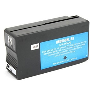 HP 950XL CN045AN Black Compatible High Yield Inkjet Cartridge OfficeJet Pro 8600 Plus 8600 Premium 8600A  8610  8615 8620  8625  8630